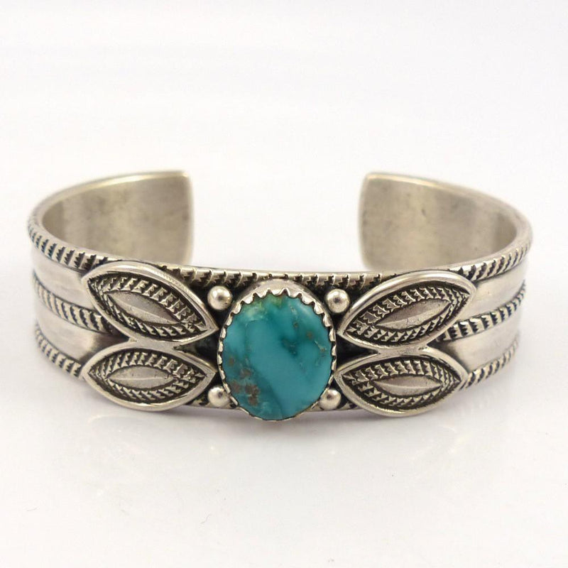 Fox Turquoise Cuff, Perry Shorty, Jewelry, Garland's Indian Jewelry