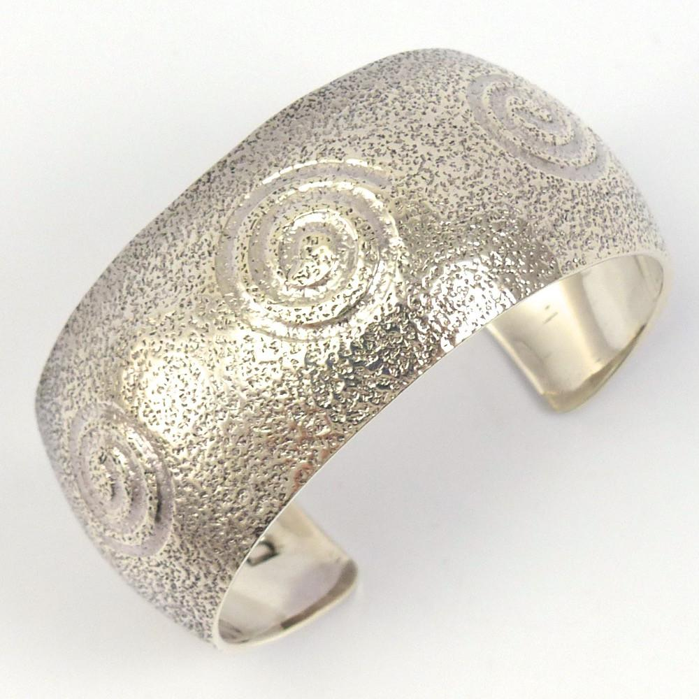 Migration Swirl Cuff, Derrick Joe, Jewelry, Garland's Indian Jewelry