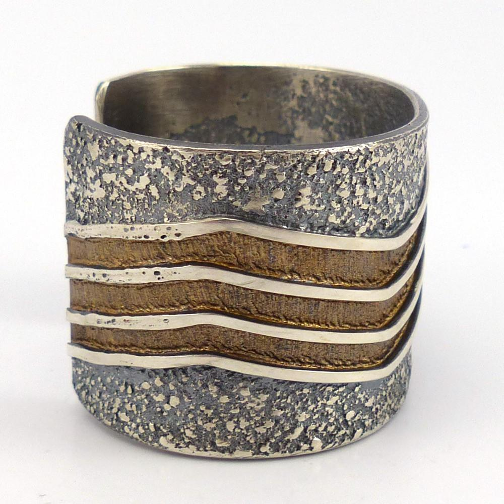 Cast Of Silver : Cast silver cuff garland s indian jewelry