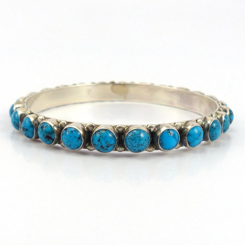 Kingman Turquoise Bangle, Don Lucas, Jewelry, Garland's Indian Jewelry