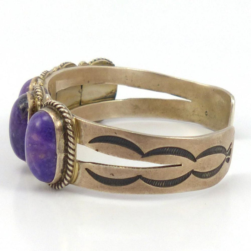 Sugilite Cuff, Don Lucas, Jewelry, Garland's Indian Jewelry