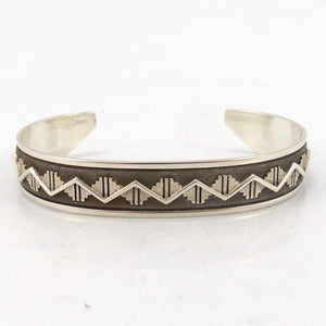 Silver Overlay Cuff, Ray Scott, Jewelry, Garland's Indian Jewelry