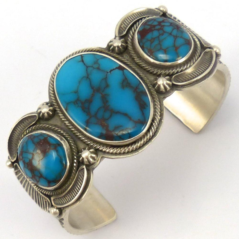 Candelaria Turquoise Cuff, Tommy Jackson, Jewelry, Garland's Indian Jewelry