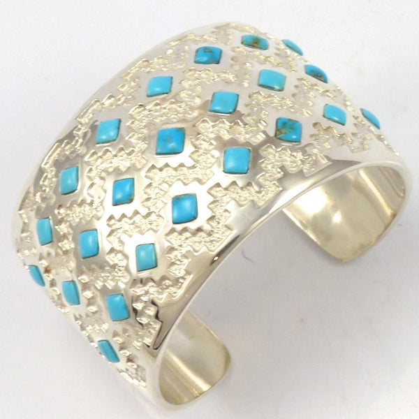 Sleeping Beauty Turquoise Cuff, Michael Perry, Jewelry, Garland's Indian Jewelry