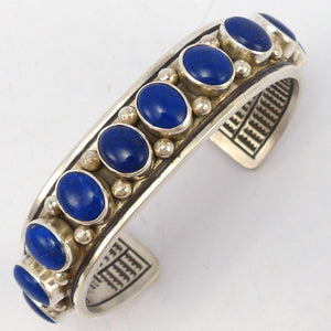 Lapis Cuff, Toby Henderson, Jewelry, Garland's Indian Jewelry