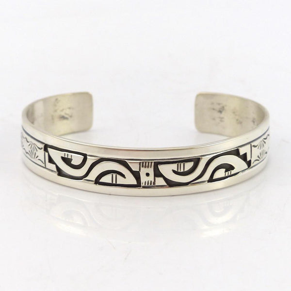 Silver Overlay Cuff, Peter Nelson, Jewelry, Garland's Indian Jewelry