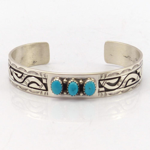 Sleeping Beauty Turquoise Cuff, Peter Nelson, Jewelry, Garland's Indian Jewelry