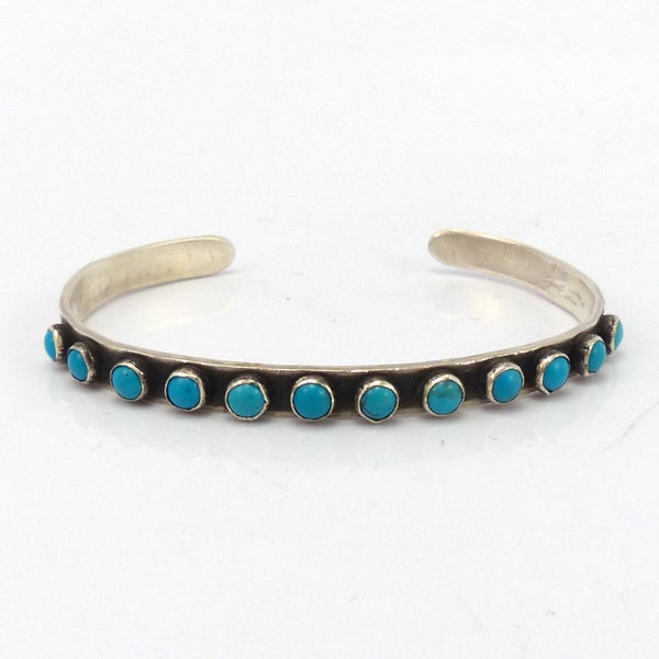 Turquoise Row Cuff