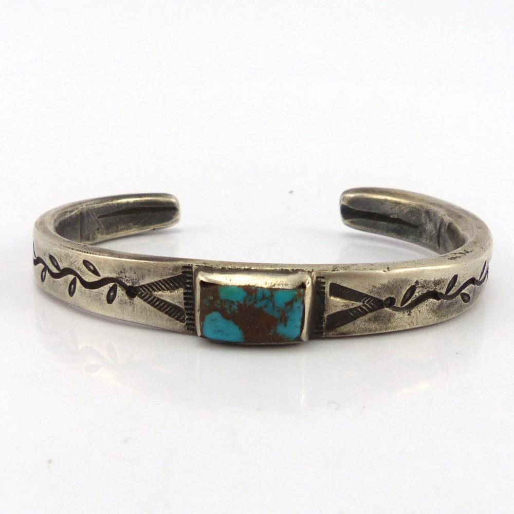 Candelaria Turquoise Cuff, Jock Favour, Jewelry, Garland's Indian Jewelry
