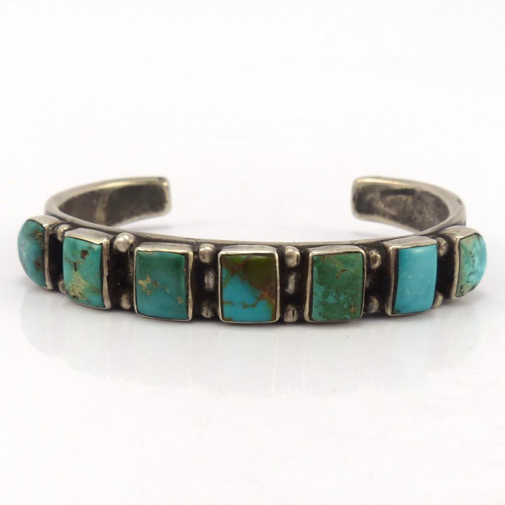 Royston and Candelaria Turquoise Cuff, Jock Favour, Jewelry, Garland's Indian Jewelry