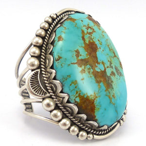 Royston Turquoise Cuff, David Lister, Jewelry, Garland's Indian Jewelry