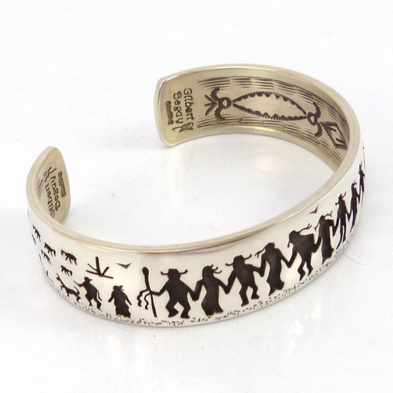Friendship Cuff, Gilbert Begay, Jewelry, Garland's Indian Jewelry