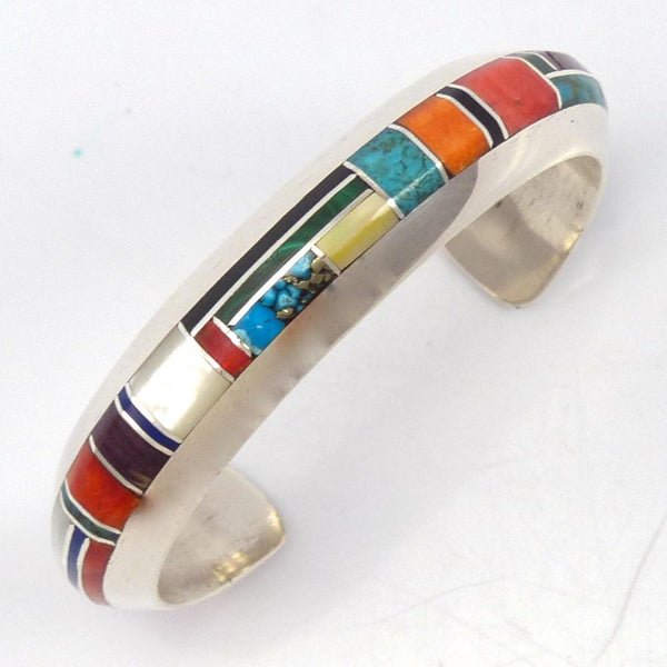 Colorful Inlay Cuff, Brian Brown, Jewelry, Garland's Indian Jewelry