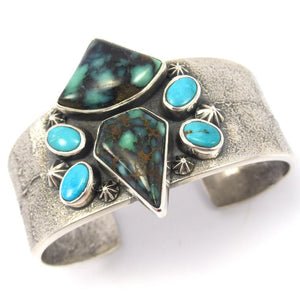 Turquoise Butterfly Cuff