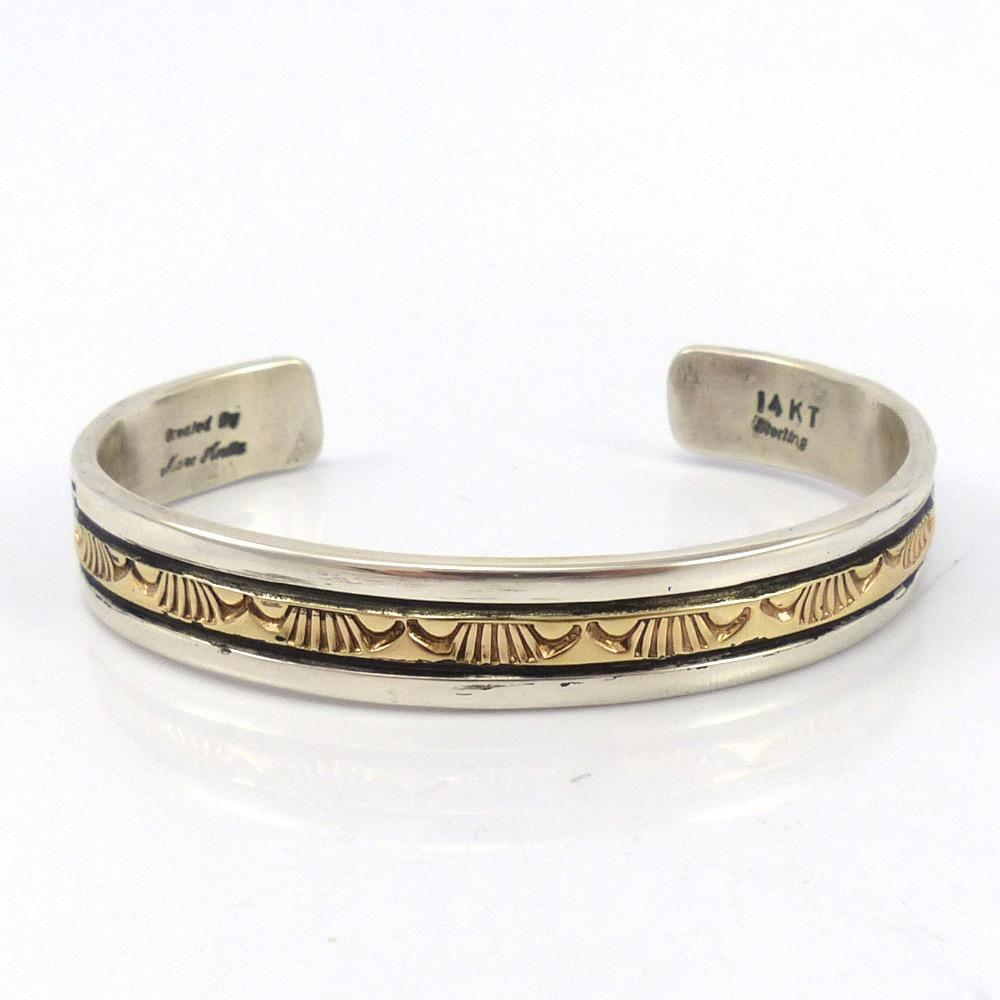 Gold on Silver Cuff, Marc Antia, Jewelry, Garland's Indian Jewelry