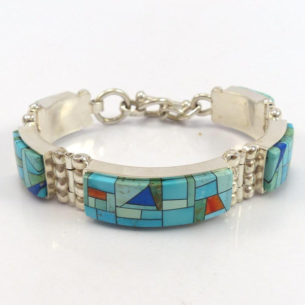 """Stained Glass"" Link Bracelet"