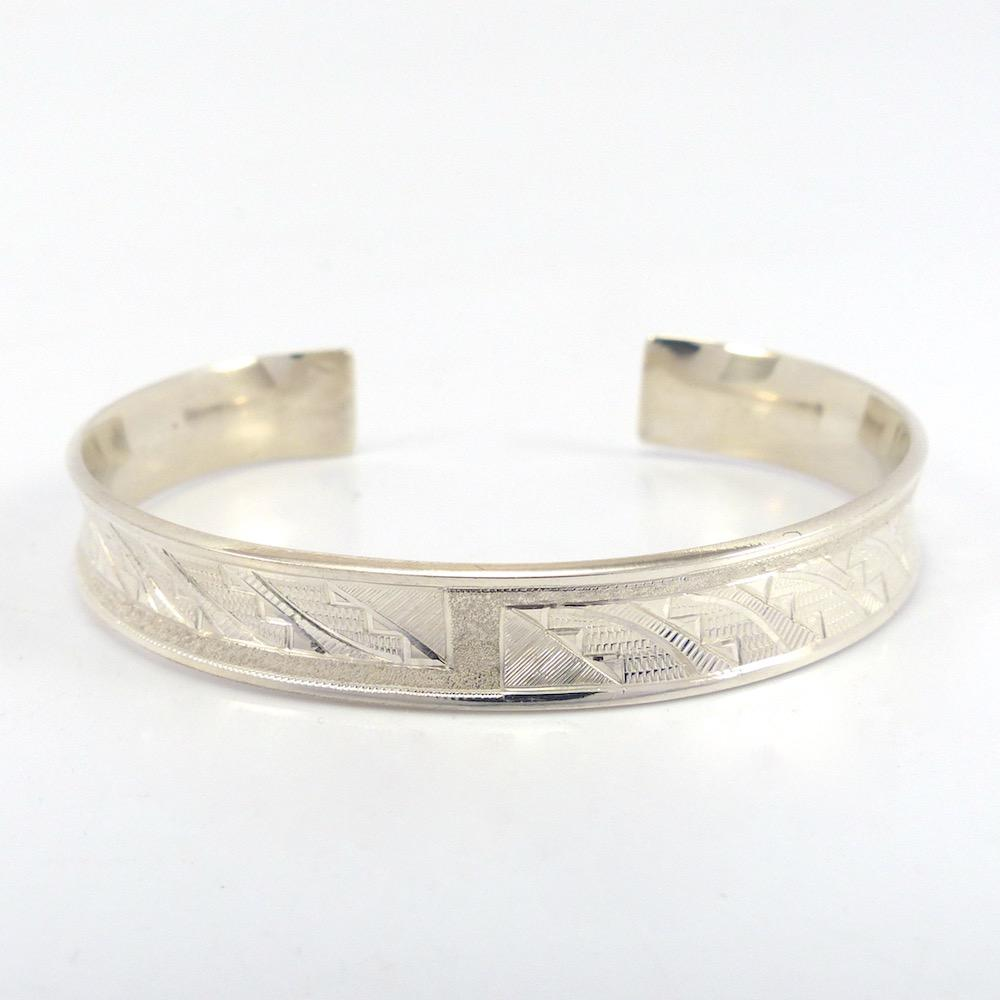 Argentium Silver Cloud Cuff, Howard Sice, Jewelry, Garland's Indian Jewelry