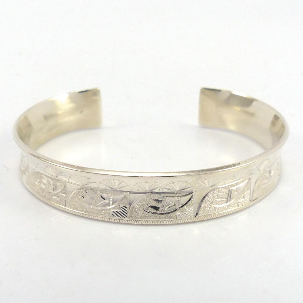Argentium Silver Cuff, Howard Sice, Jewelry, Garland's Indian Jewelry