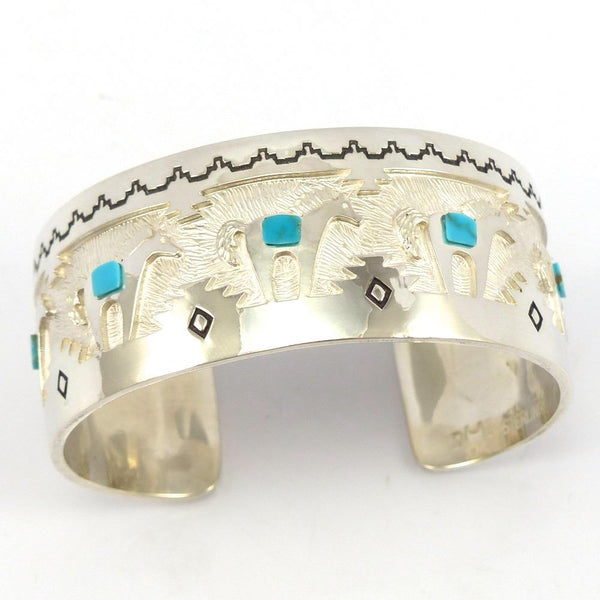 Turquoise Horse Cuff