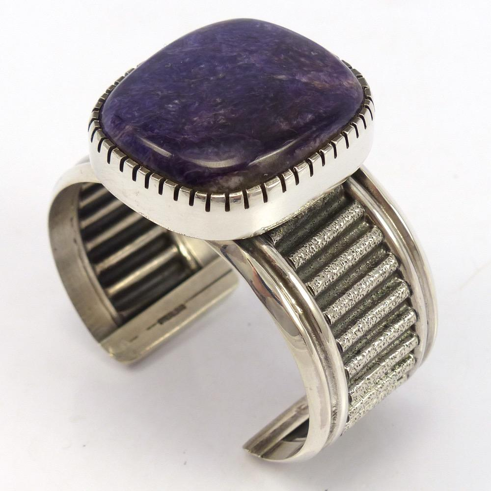 Charoite Cuff, Bryan Joe, Jewelry, Garland's Indian Jewelry