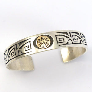 Man in the Maze Cuff, Jason Takala, Jewelry, Garland's Indian Jewelry
