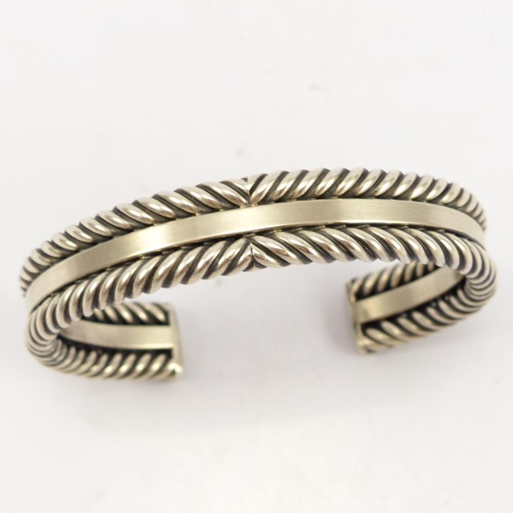 Silver Twisted Wire Cuff – Garland\'s Indian Jewelry