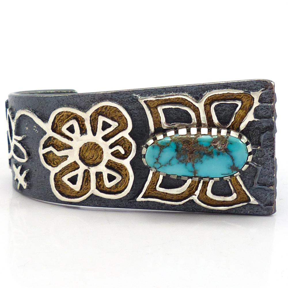 Butterfly and Flower Cuff