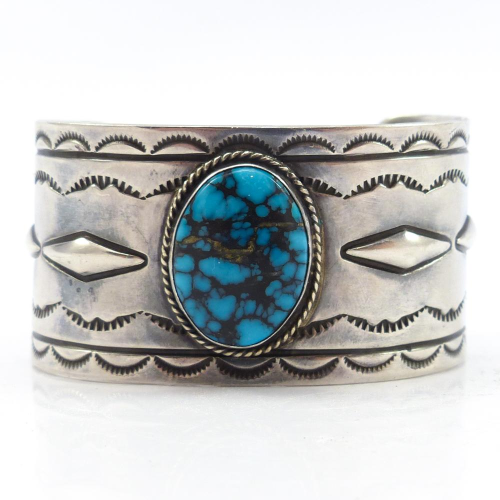 1970s Lone Mountain Turquoise Cuff