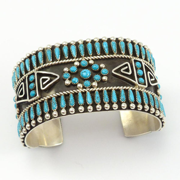 Turquoise Cluster Cuff