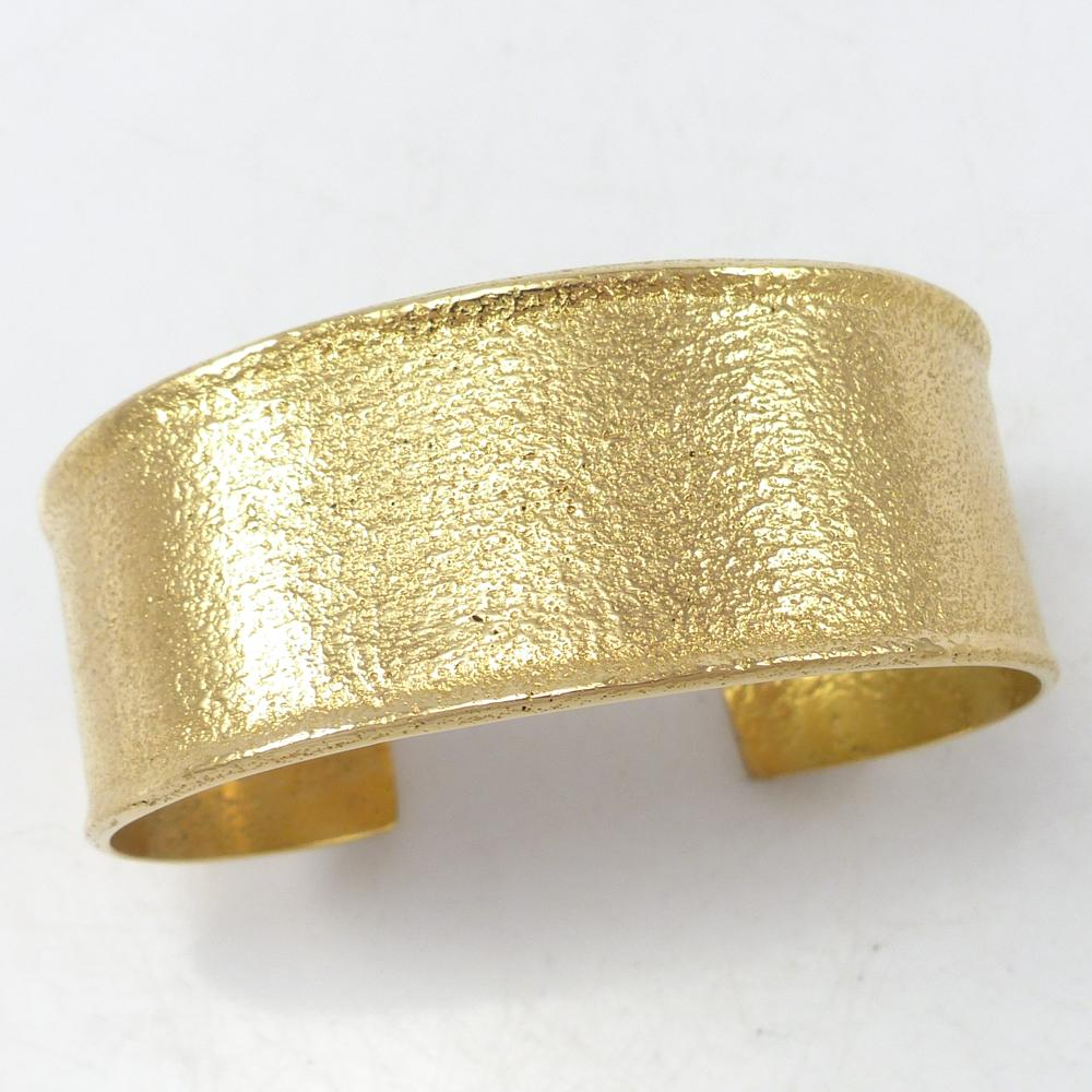 Gold Badger Paw Cuff