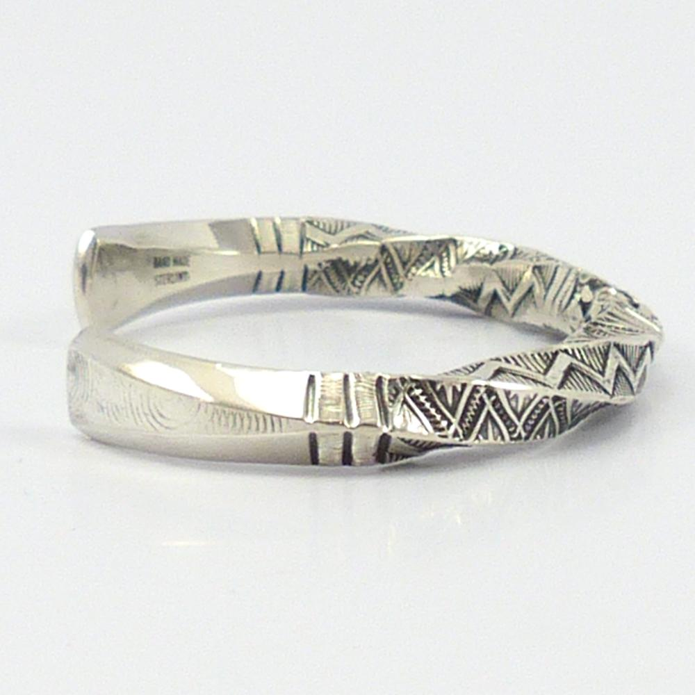 Twisted Silver Cuff: Smithsonian Blanket Wedding Ring At Reisefeber.org