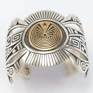 Man in the Maze Cuff