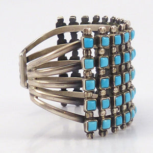 1970s Turquoise Row Cuff