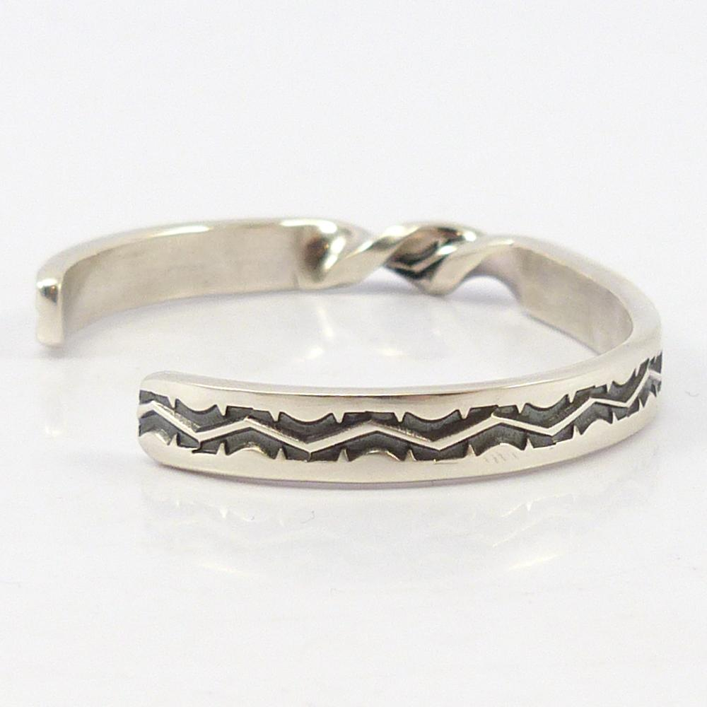 Twisted and Stamped Cuff