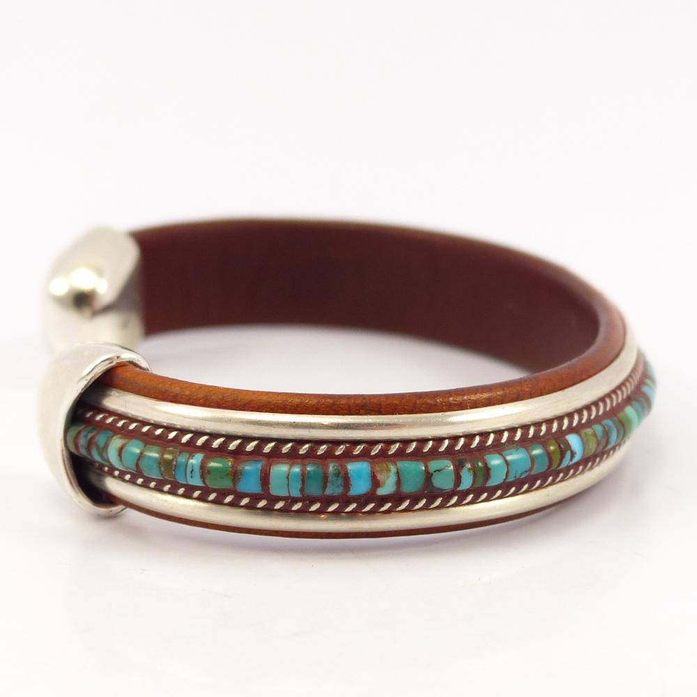 Turquoise Inlay Cuff
