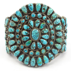 1960s Lone Mountain Turquoise Cuff