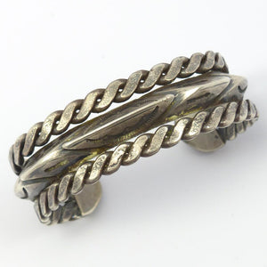 1950s Twisted Wire Cuff