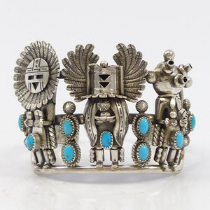 Three Kachina Cuff