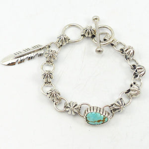 Number Eight Turquoise Bracelet