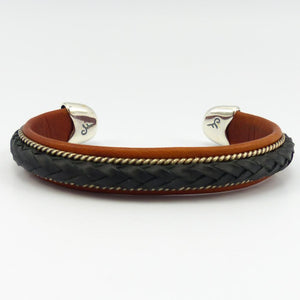 Braided Leather Cuff