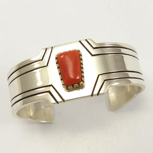 "Coral ""Fifth Phase"" Cuff"