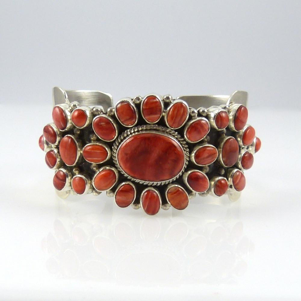 Spiny Oyster Shell Cluster Cuff - Jewelry - David and Alice Lister - 1