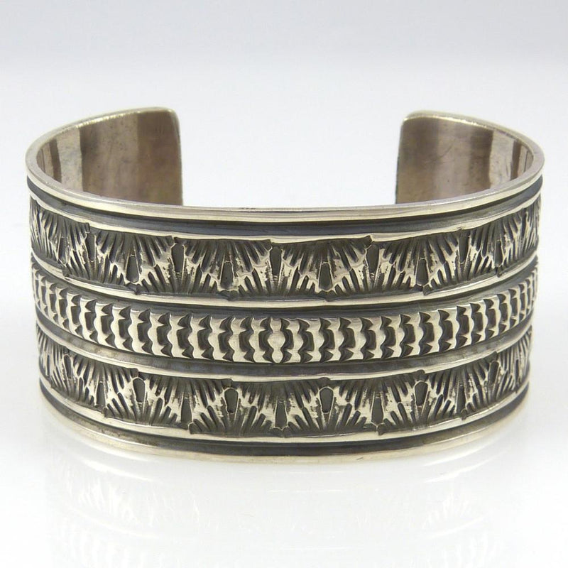 Stamped Cuff - Jewelry - Sunshine Reeves - 2
