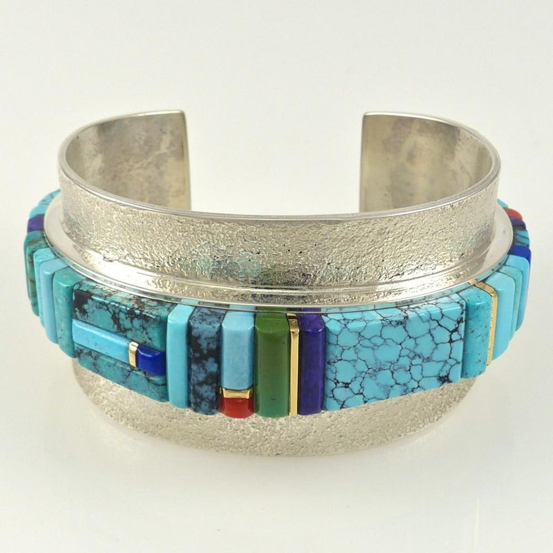 Multi-Stone Inlaid Bracelet - Jewelry - Sonwai - 3