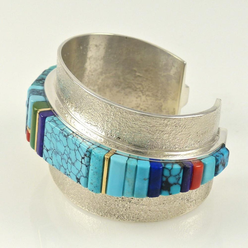 Multi-Stone Inlaid Bracelet - Jewelry - Sonwai - 9