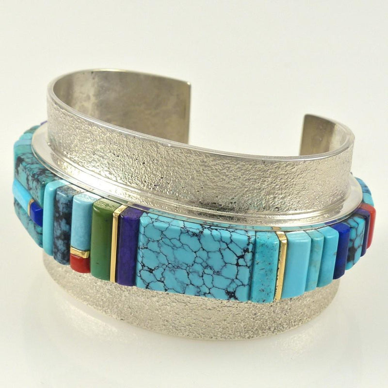 Multi-Stone Inlaid Bracelet - Jewelry - Sonwai - 10