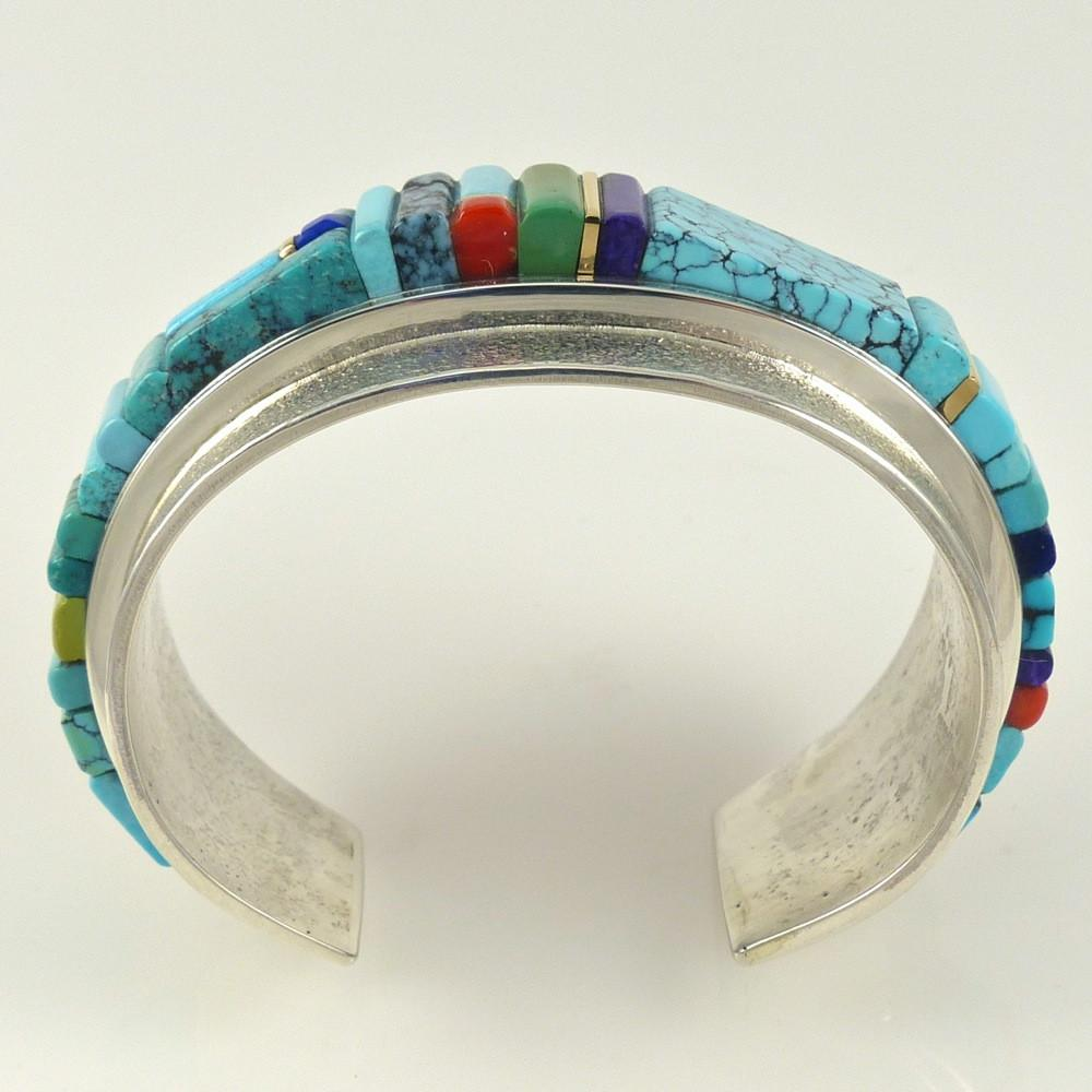 Multi-Stone Inlaid Bracelet - Jewelry - Sonwai - 1