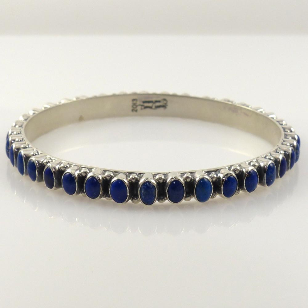 Lapis Bangle - Jewelry - Don Lucas - 1