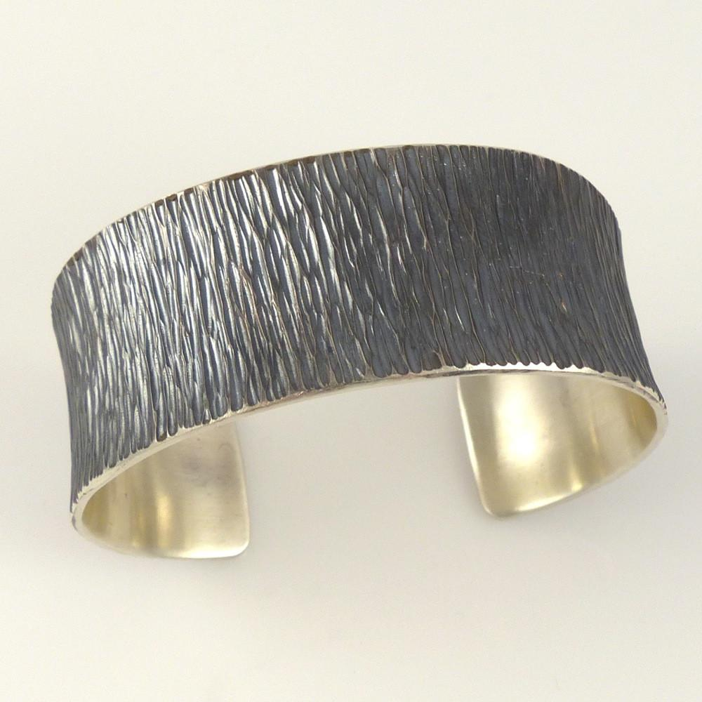 Hammered Silver Cuff - Jewelry - Pete Johnson - 1