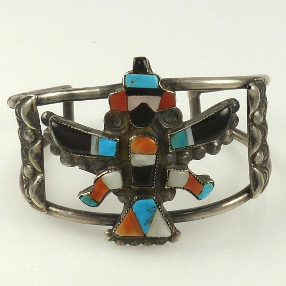 1940s Knifewing Cuff - Jewelry - Vintage Collection - 1